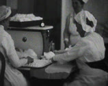 Stock Video Footage of World War 1 - Hospital staff working