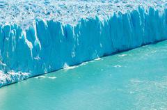 Perito moreno glacier, patagonia, argentina Stock Photos