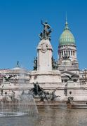 Stock Photo of national congress building, buenos aires, argentina