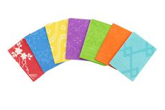 colorful origami paper - stock photo