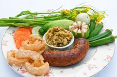 Northern thai food Stock Photos