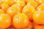 Mandarines background. Stock Photos