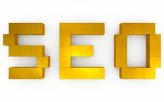 Seo optimization 3d Stock Photos