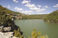 Stock Photo of toba reservoir, cuenca, spain
