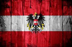 austrian flag background - stock illustration