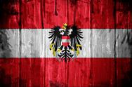 Stock Illustration of austrian flag background