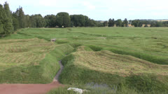 Newfoundland Memorial Park, Somme, France. Stock Footage