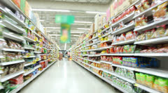 Grocery Shopping - stock footage