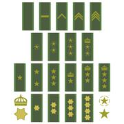 Insignia of the swedish army Stock Illustration