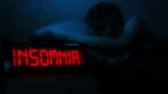 Insomnia Stock Footage