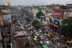 delhi - stock photo