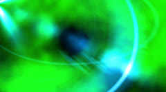 Inside the lens - background (color green) Stock Footage