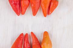 red hot cayenne - stock photo