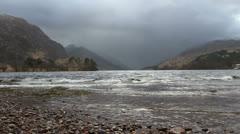 Loch Shiel Glenfinnan Scotland Stock Footage