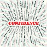 Confidence Stock Illustration