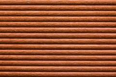 Texture of terrace wood Stock Photos