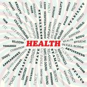 health - stock illustration