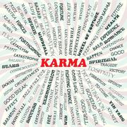 Karma Stock Illustration