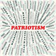 Patriotism Stock Illustration