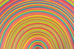 Rubber strips rainbow pattern Stock Photos
