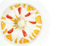 Cheese Pound Cake - stock photo