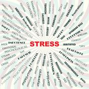 Stress concept Stock Illustration