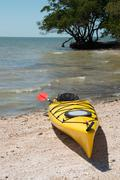 Kayak in the Everglades - stock photo