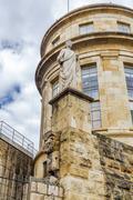 Statue of caesar augustus in tarragona, spain Stock Photos