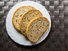 Sesame Seed Bread - stock photo