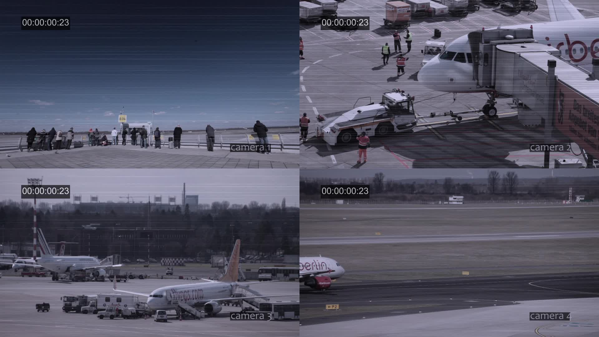 After Effects Project - Pond5 Airport CCTV 22987500