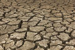 Dry soil Arid - stock photo