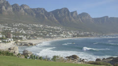 Beach Cliffs - stock footage