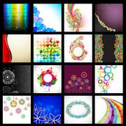 Vector Background Collection Stock Illustration