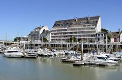 Port of Pouliguen in France Stock Photos