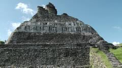 Mayan Ruins of Altun Ha Stock Footage