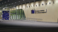 Stock Video Footage of Brussels EU Commission