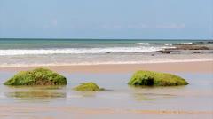 ALGARVE Praia St Eulalia H.mp4 Stock Footage