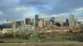 4k Denver Skyline with Highway Footage