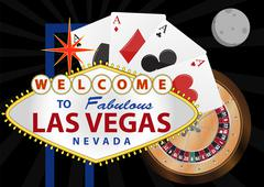 las vegas - stock illustration