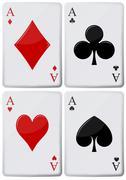 Aces Stock Illustration
