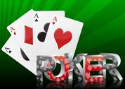 Poker card Stock Illustration
