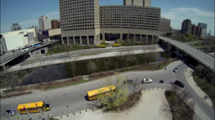 Ottawa Canada -Government Buildings and Skyline Stock Footage