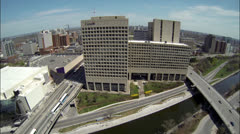 Ottawa Canada - Government Buildings and Skyline Stock Footage
