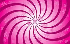Flower Spiral Stock Illustration