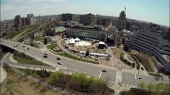 Ottawa Ontario Canada's City Hall Stock Footage