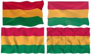 Stock Illustration of flag of bolivia