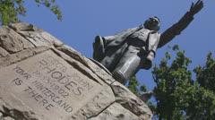 Cecil john rhode statue Stock Footage