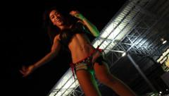 Thailand sexy female coyote dancers. Stock Footage