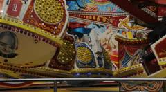 026 4972 amusement park Stock Footage