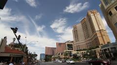 The Las Vegas Strip Daytime Stock Footage